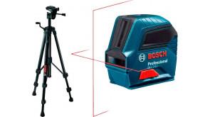 Лазерний нівелір Bosch GLL 2-10 з чохлом та штативом BT 150