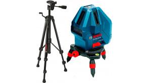 Лазерний нівелір Bosch GLL 5-50 X з штативом BT 150, чохлом