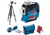 Лінійний лазерний нівелір Bosch GLL 3-80 C с штативом BT 150, чехлом