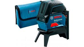 Нівелір Bosch GCL 2-15 Professional з тримачем RM 1, мішенню, чохлом