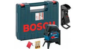 Лазерний нівелір Bosch GCL 2-15 Professional з тримачем RM 1, поворотним кріпленням