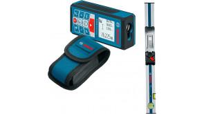 Лазерный дальномер Bosch GLM 80 с измерительной линейкой R 60