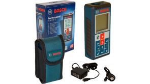 Лазерный дальномер Bosch GLM 100 C Professional с чехлом и з/у