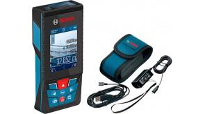 Лазерный дальномер Bosch GLM 120 C Professional с чехлом и з/у