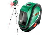 Лінійний лазерний нівелір Bosch UniversalLevel 2 SET з штативом, чохлом