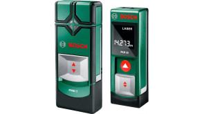 Набор Bosch дальномер PLR 15 с детектором PMD 7