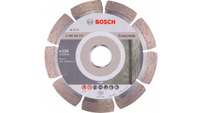 Алмазный круг Bosch Standard for Concrete 125x22,23x1,6x10 мм