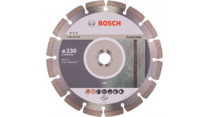 Алмазный круг Bosch Standard for Concrete 230x22,23x2,3x10 мм