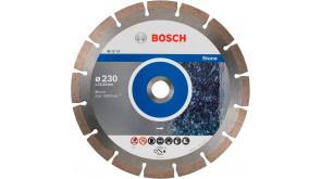 Алмазний круг Bosch Standard for Stone 230x22,23x2,3x10 мм, 10 шт
