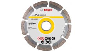 Алмазний круг Bosch ECO Universal 125x22,23x2,0x7 мм
