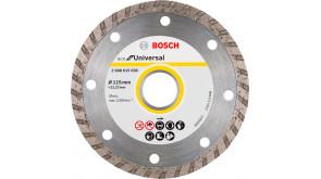 Алмазний круг Bosch ECO Universal Turbo 115x22,23x2,0x7 мм