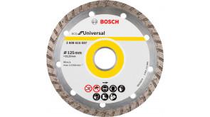 Алмазний круг Bosch ECO Universal Turbo 125x22,23x2,4x7 мм