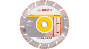 Алмазний круг Bosch Universal 230x22,23x2,6x10 мм, 10 шт