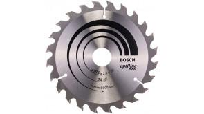 Пиляльний диск Bosch Optiline Wood 184×2,6×30 мм, 24 ATB