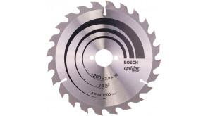 Пиляльний диск Bosch Optiline Wood 200×2,8×30 мм, 24 ATB