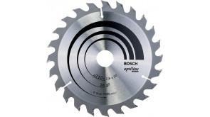 Пиляльний диск Bosch Optiline Wood 210×2,8×30 мм, 24 ATB