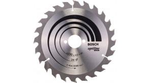 Пиляльний диск по дереву Bosch Optiline Wood 190 мм 24 АТВ