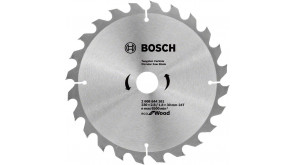 Пиляльний диск Bosch Eco for Wood 230x2,8x30-24T