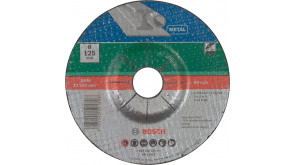 Круг зачисний Bosch A 24 R BF 125×6 мм