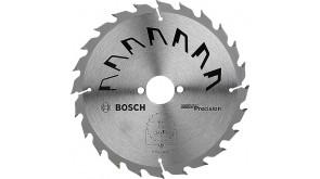 Пиляльний диск Bosch Precision GP WO H 190×2,5×30, 24 зубів