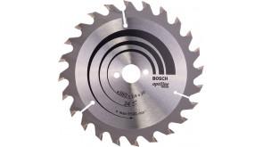 Пиляльний диск по дереву Bosch Optiline Wood 160×2,6×20, 24 ATB