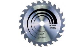 Пиляльний диск по дереву Bosch Optiline Wood 190x20/16x2,6 мм 24 АТВ