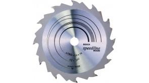 Пиляльний диск Bosch Speedline Wood 160×2,4×16 мм, 12 FZ/WZ
