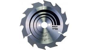 Пиляльний диск по дереву Bosch Optiline Wood 160×2,6×20, 12 ATB
