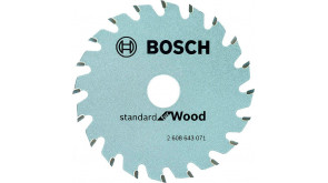 Пиляльний диск Bosch Optiline Wood 85x15x1,1 мм, 20