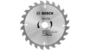 Пиляльний диск Bosch Eco for Wood 160x2,2x20-24T
