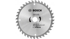 Пиляльний диск Bosch Eco for Wood 160x2,2x20-36T