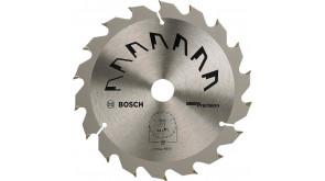 Пиляльний диск Bosch Precision GP WO H 160×2,5×20, 18 зубів