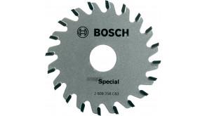 Пиляльний диск Bosch для PKS 16, 65х15 мм, 20 зубців