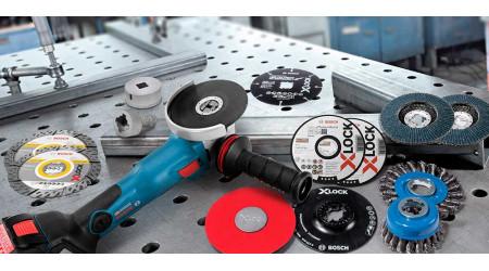 Система XLock — легка заміна дисків на болгарках одним натиском