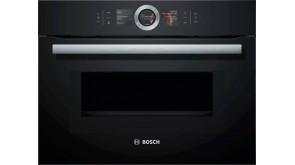 Компактна духова шафа з мікрохвильовим режимом Bosch CMG636BB1