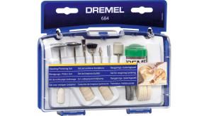 Набір насадок Dremel для чищення та полірування (20 шт) (684)