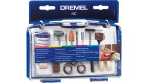 Набір насадок Dremel багатофункціональний, 52 шт (687)