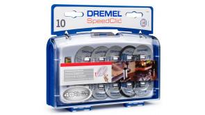 Набір насадок Dremel для різання EZ SpeedClic, 11 шт (SC 690)