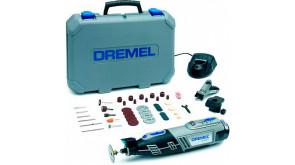 Багатофункціональний інструмент Dremel 8220 2/45 в чемодані з 1 акб 12V, з/п, 45 насадками та 2 приставками
