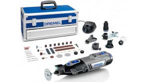Багатофункціональний інструмент Dremel 8220 5/65 в чемодані з 65 насадками, 5 приладдями, 2 акб 12V та з/п