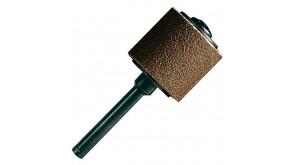 Шліфстрічка з насадкою Dremel 13 мм, зерно 60 (407)