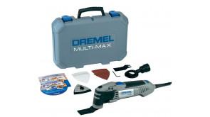 Багатофункціональний різак DREMEL Multi-Max MM40 (MM40-1/9) в чемодані з шліфпластиною, 6 шліфлистами, 2 пиляльними полотнами