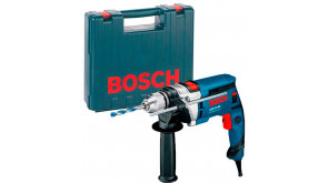 Дриль ударний Bosch GSB 16 RE Professional в чемодані з ШЗП