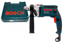 Дриль ударний Bosch GSB 16 RE Professional в чемодані з ЗВП