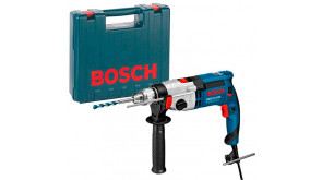 Дриль ударний Bosch GSB 21-2 RE Professional в чемодані з ЗВП
