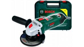Кутова шліфмашина Bosch PWS 750-125 в чемодані