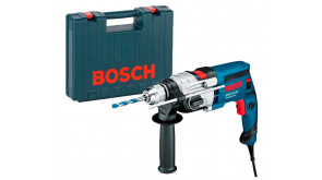 Ударний дриль Bosch GSB 19-2 RE Professional в чемодані з ШЗП