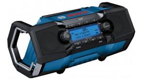 Радіоприймач Bosch Professional GPB 18V-2 SC із батарейками 3 V CR2032, з/п і кабелем