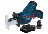 Акумуляторна ножівка Bosch GSA 12V-14 Professional з 1 акб GBA 12V 2.0Ah, з/п GAL 12V-40 у картонній коробці