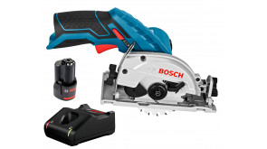 Акумуляторна дискова пила Bosch Professional GKS 12V-26 з1 акб GBA 12V 2.0Ah, з/п GAL 12V-40 в картонній упаковці